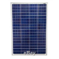 Mighty Max Battery 100 watt Off Grid Solar Power System 100w 12v -18v high for