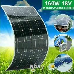 Monocrystalline 100-200W Solar Panel Tile Mono Power Bank For Off Grid RV Boat