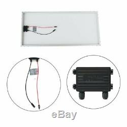 Monocrystalline 100 Watt 12V Solar Panel Off Grid Solar Power, (QTY 4) UR