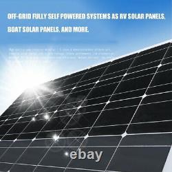 Monocrystalline Flexible Solar Panel Module Solar Power System For Off Grid gr
