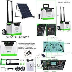 Nature's Generator Gold System 1800W Solar Wind Powered Pure Sine Wave Off-Grid