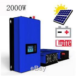 Nearly 2000W Grid Tie Solar Kit 16 pcs 120W Solar Panel 2KW Solar Power Inverter