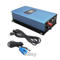 New 1000W Solar/Wind Turbine on Grid Tie Inverter with Power Limiter PV system