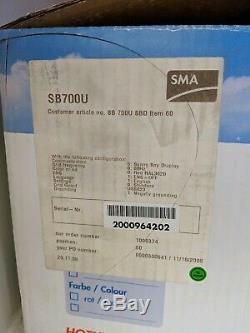 New Open Box SMA Sunny Boy SB700U Solar PV Grid Tie Inverter 700 watt LCD 120VAC