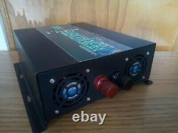 New off grid Solar Power Inverter Pure Sign Wave 1500 watt 24vdc to 110vac PSW