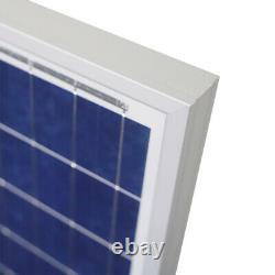 NewPowa 100W Watts Solar Panel 12V Volt Poly Off Grid Battery Charge RV BOAT