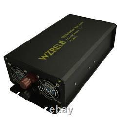 Off Grid Pure Sine Wave Inverter 1000W 12V/24V DC to 120V/240V AC Power Inverter