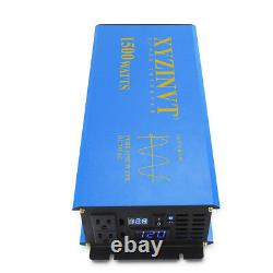 Off Grid Pure Sine Wave Inverter 1500W 48V DC to 110/120V/220V AC Power Inverter