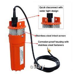 Off Grid Solar Power Pump Kits 12V Deep Well Water Pump & &Solar Panel &Battery