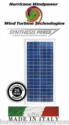PEIMAR OS30P 30W 12 Volt Poly-Crystalline Solar Panel for Off Grid, RV, Marine
