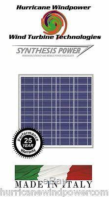 PEIMAR OS50P 50W 12 Volt Poly-Crystalline Solar Panel for Off Grid, RV, Marine