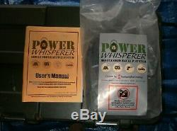 POWER WHISPERER 2000 WATT Solar Generator OFF GRID withTwice the Solar Power