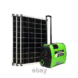 Portable Solar Generator 1KWh Lithium Battery off grid mobile solar power unit