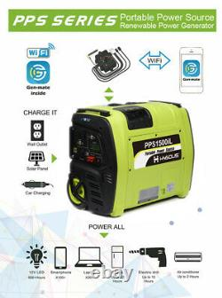 Portable Solar Generator 2KWh Lithium Battery off grid mobile power station