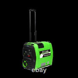 Portable Solar Generator 2KWh Lithium Battery off grid mobile solar power unit