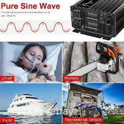 Power inverter1500 watt Pure sine wave dc 24v to 110 v ac solar off grid