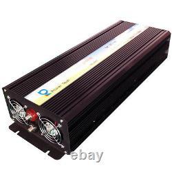 Pure Sine Wave Inverter 2500W Power Inverter 12V to 120V Off Grid LED Display