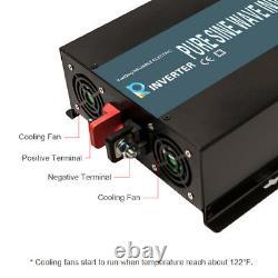Pure Sine Wave Inverter 3000W Power Inverter 48V to 120V Off Grid Remote Control