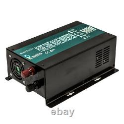 Pure Sine Wave Inverter 500W Car Power Inverter 12/24/36/48V DC to 240V Off Grid