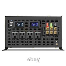 Pure Sine Wave Power Inverter 10000W 110V DC to 120V/220V AC Off Grid Converter