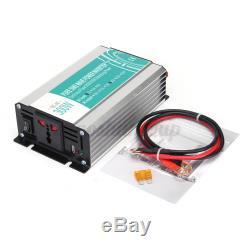 Pure Sine Wave Solar Power Inverter 300W 12V to 110V Off Grid Electric Converter