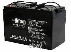 Raion 12V 100AH 100 Amp Hour Sealed AGM Deep Cycle SLA Battery Solar RV Off Grid