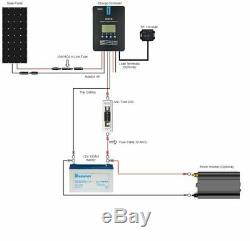 Renogy 100 Watt 12 Volt Off Grid Solar Premium Kit with Monocrystalline Solar