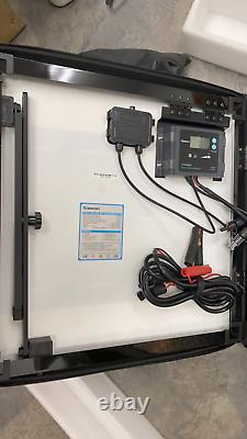 Renogy 100-Watt Eclipse Monocrystalline Portable Suitcase Off-Grid Solar Power K