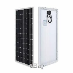 Renogy 100 Watts 12 Volts Monocrystalline Solar RV Kit Off-Grid Kit with 30A