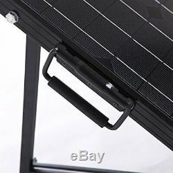 Renogy 100W 12V Monocrystalline Off Grid Portable Foldable 2pcs 50W Solar Panel