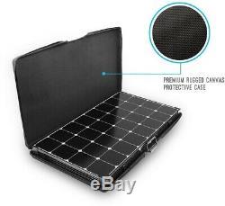 Renogy 200-Watt Eclipse Monocrystalline Portable Suitcase Off-Grid Solar Power