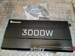Renogy Off Grid 3000W 12VDC to 120VAC Pure Sine Wave Inverter Solar Power Bat