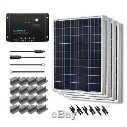 Renogy Solar Power Pabel 400-Watt Polycrystalline Silicon Off-Grid Solar System
