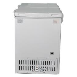 SMAD 10.7 Cu Ft Solar Powered Freezer DC AC 12V 24V Camper Van Leisure Off-grid