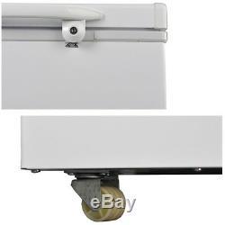 SMAD 303L Solar Powered Chest Freezer AC DC 12V 24V Camper Off-grid Refrigerator