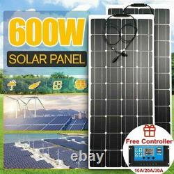 Solar Panel Complete Kit System 600w Off Grid Solar Panel Inverter for Home