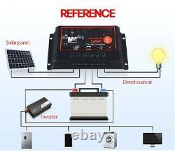 Solar Panel Kit 1000W Solar Power Generator Grid System Inverter Kit 60A NEW