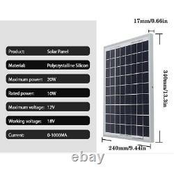 Solar Panel Kit 1000W Solar Power Generator Grid System Power Home System 1000w