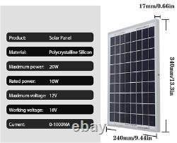 Solar Panel Kit 1000W Solar Power Generator Grid System Power Station 50A NEW
