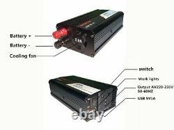 Solar Panel Kit Charger Inverter Controller Generator Grid System Power Station