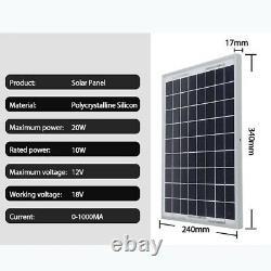 Solar Panel Kit Solar Power Generator 1000W Grid System Power Station 60A 2021