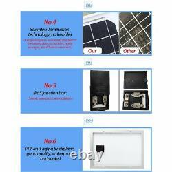 Solar Panel Kit Solar Power Generator 1000W Grid System Power Station 60A New