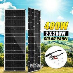 Solar Panel Mono Perc Off Grid 400W Power Generator For Rv Campervan Home House