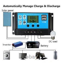 Solar Panel Power Generator Grid Home System 3000W Inverter Controller Kit 220V