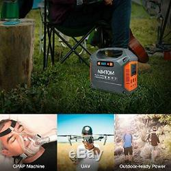 Solar Power Generator Portable Battery Station Panel Camping Off Grid Backup New