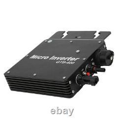 Solar Power Grid Tie Inverter Pure Sine Micro Inverter Power 400W(AC110130V)