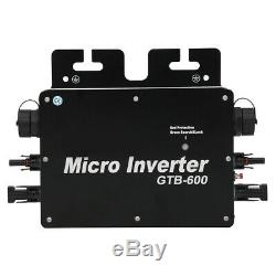 Solar Power Grid Tie Inverter Pure Sine Waving Micro Inverter GTB600 600W