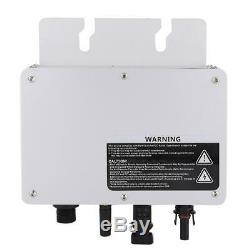 Solar Power Grid Tie Micro Inverter Voltage 80-160VAC/180-280VAC SH