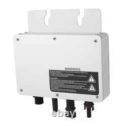 Solar Power Grid Tie Micro Inverter Voltage 80-160VAC/180-280VAC Waterproof