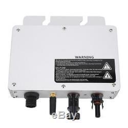 Solar Power Grid Tie Micro Inverter Voltage 80-160VAC/180-280VAC YZ